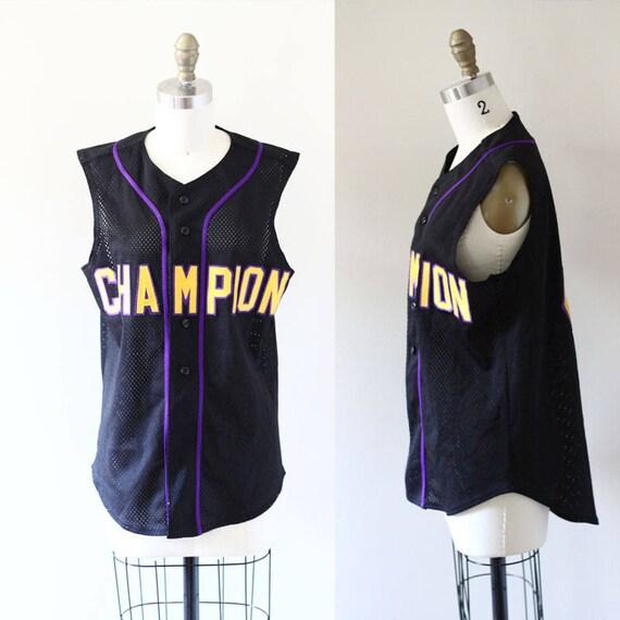 1980s Champion Bike Jersey // 1980s Bike Jersey // 1980s jersey