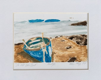 The Old Blue Boat