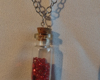 SALE!! Love in a Bottle Necklace