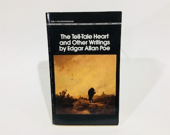 Vintage Horror Book The Tell-Tale Heart and Other Writings by Edgar Allan Poe 1982 Paperback Anthology