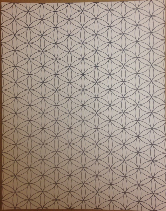 Flower of life complete pattern blueprint of reality like this item malvernweather Images