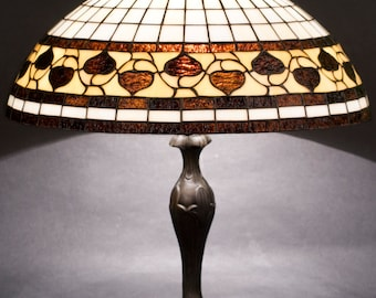 Stained Glass Lamp, Acorn, Table Lamps, Desk Lamp, Library Lights, Reading Lamp, Reading Lights, Stained Glass Art, Bedside Lamp, Table Lamp
