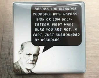 Before you diagnose yourself ...custom made 1.5x1.5inch magnet