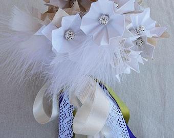 Personalized bridal bouquet