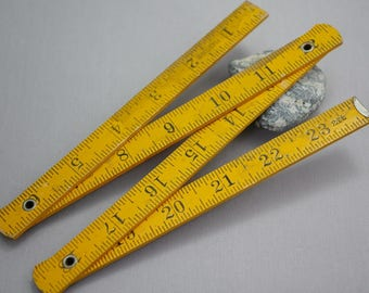 Vintage Wood Folding Ruler 24 inch Fix n Save Made in Japan