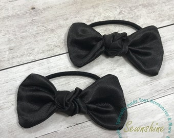 Satin Bow Hair Tie