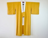 Mustard yellow silk Nagaj...