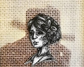 3D Victorian Style Drawing. Shadow Effect
