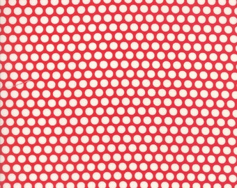Sale! Basics Bliss dot in red, Bonnie and Camille for Moda 55023 31
