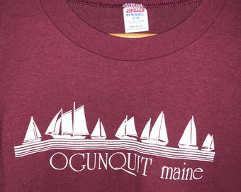 Vintage Ogunquit Maine tourist shirt XL