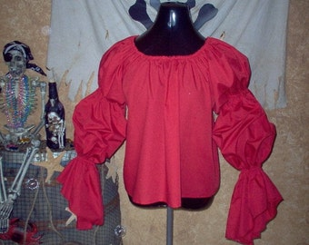 Red Renaissance Chemise Other Colors Available