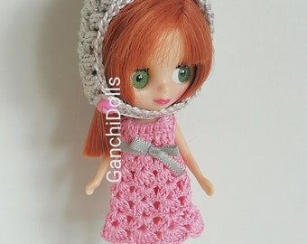 Pixie Hat for Petite Blythe/elf Hood