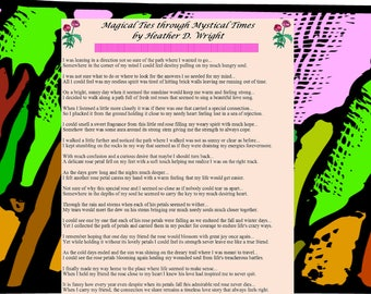Magical Ties through Mystical Times - Printable Digital Download