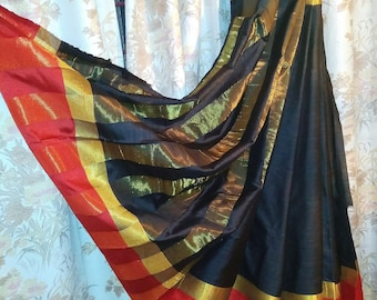 Semi cotton silk saree
