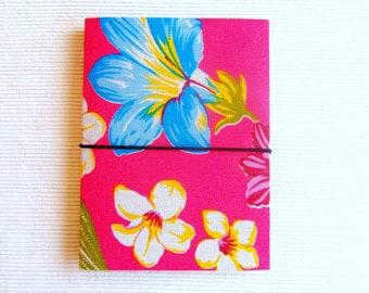 Traveler's Notebook A6 Pink midori fabric fauxdori