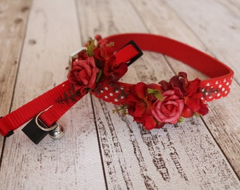 Cat Collar - Red