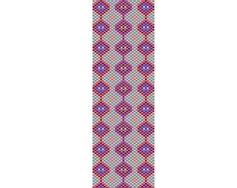 Coralicious Peyote Cuff Bracelet Pattern