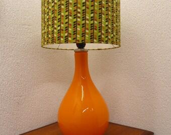 Danish Holmegaard/Holmegård Table Lamp With Shade