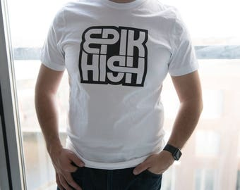 Kpop EPIK HIGH fan t-shirt/sweater/hoodie for Men/Women in Black or White