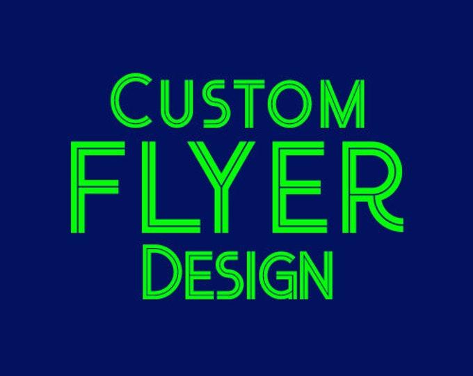 Flyer Design, Company Flyer, School Flyer, Event Flyer, Custom Flyer, Custom Flyer Design, Real Estate, Poster Design - Digital Printable