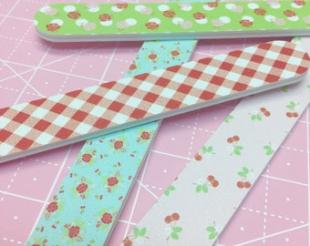 Nail File/Emery Boards by Lori Holt of Bee in my Bonnet