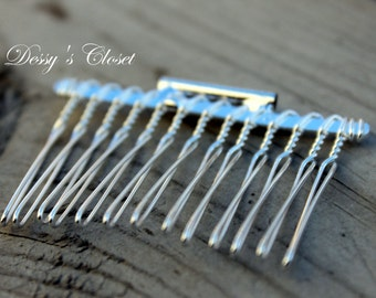 Hair Comb Brooch Converter 2 inches