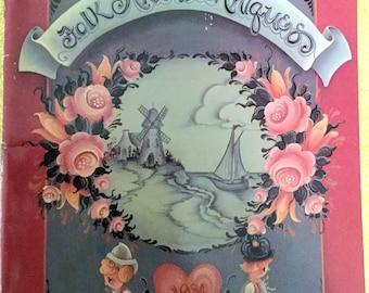 Vintage Jo Sonja's Folk Art Techniques book, 1984