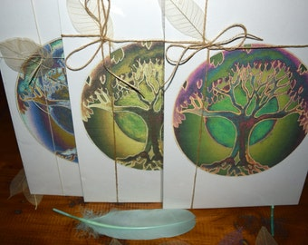 New 3x A4 Tree Prints. Unique gift idea for, birthdays, mothers day and any other occasion.