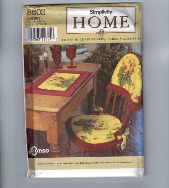 Handwerk Nähen Muster Einfachheit 8603 Home Decor Futon Stuhl