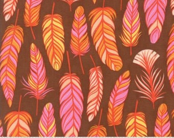 Moda Wing & Leaf by Gina Martin Wing Chestnut 10063 19 - Quilt, Quilting, Clothing, Crafts