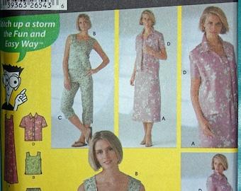 Summer Casual Wear Pattern - Simplicity 5642