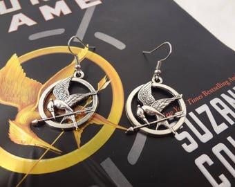 Hunger Games Inspired Dangle Earrings