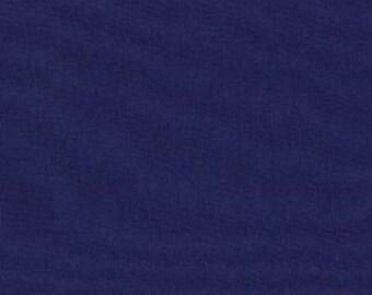 Bella Solids from Moda 1 Yard Navy Blue Cotton Fabric