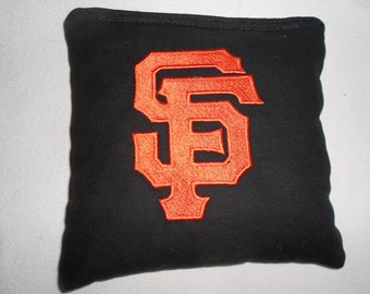 Embroidered San Fransico Giants Corn hole Bags