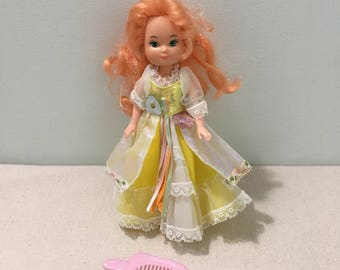 Vintage Lady Lovely Locks Doll Maiden CurlyCrown