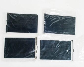 4x5 Dark Slides, Set of 4