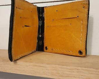 Mens wallet - wallet - billfold - leather wallet - mens leather wallet - mens fashion - real leather wallet