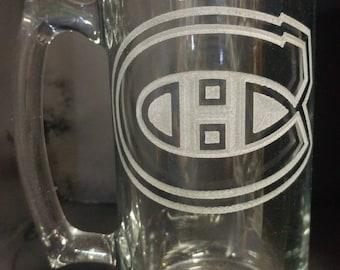 Engraved Beer Mug. Big size.