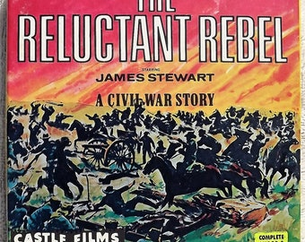 THE RELUCTANT REBEL starring James Stewart - Super 8 Castle Films No. 1063 - B/W - 200 ft. Reel