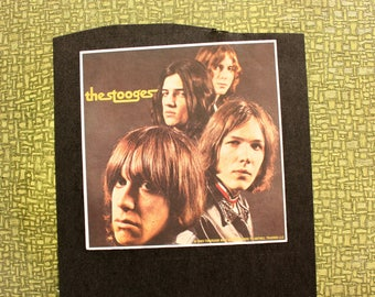 Iggy & the Stooges heat press transfer iron on for t-shirts, sweatshirts
