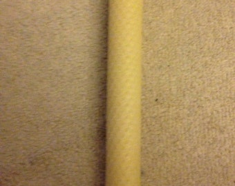 Natural Beeswax Taper - Large