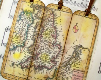 Scotland map bookmarks for men historical map bookmarks set scotland kingdom of england wales ireland netherlands historical map bookmarks set of gumiabroncs Gallery