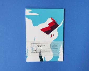 "Notebook ""Montagne"""
