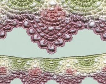 Victorian scalloped lace No 14