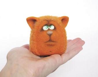 Felt doll - Handmade toys - Needle felting - Felt toys - Figurines - Eco friendly - Personalised gifts - Gifts for her - gifts for men