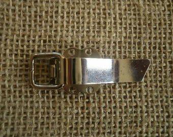 Tie clip in silver, size 5 cm
