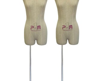PGM Dress Form Mannequin 2 in a Set