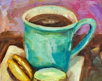 Oil painting is an original one if a kind, and delicious too!