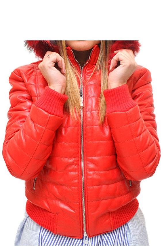 Jacket Women's Leather Leather Women's Women's Jacket z01Oqdxw