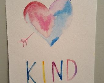 Be Kind - heart